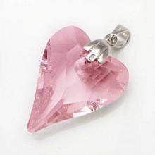 Divoké srdce - Swarovski element PSW022