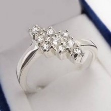 Stříbrný prsten KPS132