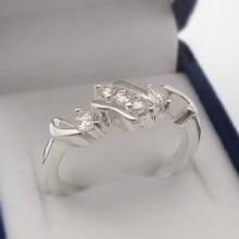 Stříbrný prsten KPS136