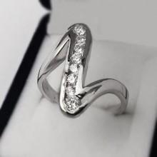 Stříbrný prsten KPS167