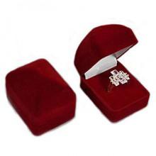 Bordó krabička na prstýnek