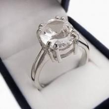Stříbrný prsten se zirkonem (KPS138)