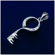 Stříbrný přívěsek Klíč (KPRS001)