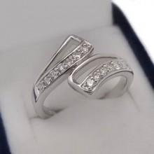 Luxusní stříbrný prsten (KPS159)