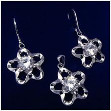 Stříbrná souprava šperků (KS006)