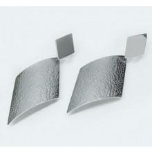 Dlouhé náušnice z chirurgické oceli (KNA037)