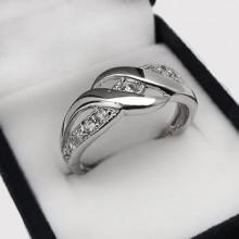 Moderní stříbrný prsten (KPS169)
