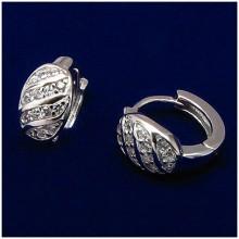Stříbrné náušnice kroužky (KNAS127)
