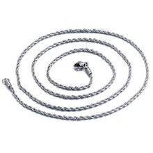Ocelový řetízek pro přívěsek - 55cm (KR41)
