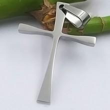 Přívěsek kříž z chirurgické oceli (KPR108)