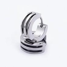 Náušnice z chirurgické oceli (KNA48)
