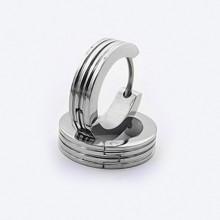 Větší náušnice kroužky z chirurgické oceli (KNA60)