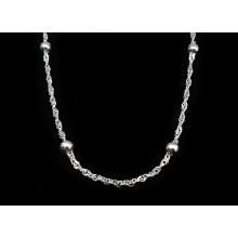 Stříbrný řetízek (KRS004)