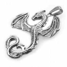 Přívěsek drak z chirugické oceli (KPR091)