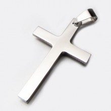 Přívěsek kříž z chirurgické oceli (KPR061)