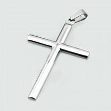 Přívěsek kříž z chirurgické oceli KPR9