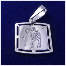 Stříbrný přívěsek-znamení beran