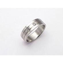 Dámský prsten z chirurgické oceli (KPZ2)