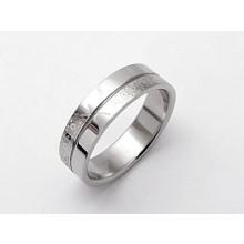 Dámský prsten z chirurgické oceli (KPZ4)
