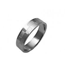 Prsten z chirurgické oceli (KP6)