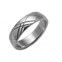 Prsten z chirurgické oceli (KP11)