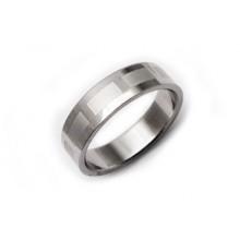 Prsten z chirurgické oceli (KP14)