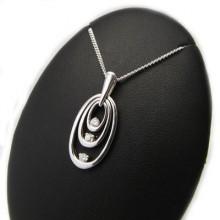 Dámský stříbrný přívěsek (KPRS120)