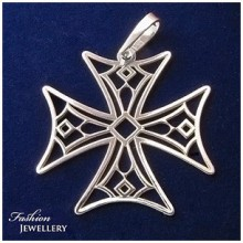 Dámský kříž-stříbrný (KPRS146)