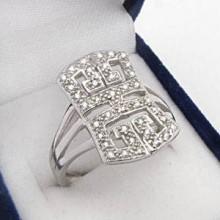 Stříbrný prsten KPS014