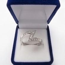 Stříbrný prsten KPS020