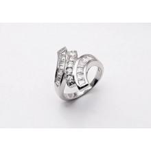 Stříbrný prsten KPS001