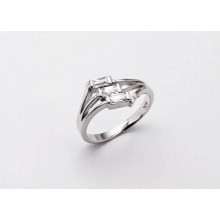 Stříbrný prsten KPS004