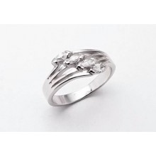 Stříbrný prsten KPS009