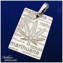 Stříbrný přívěsek marihuana (KPRS150)