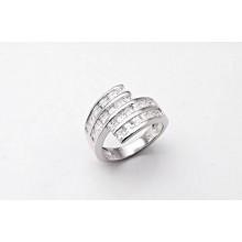 Stříbrný prsten KPS015