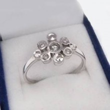 Stříbrný prsten KPS017