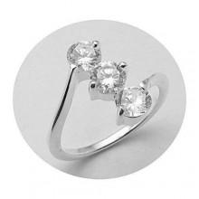 Stříbrný prsten KPS019