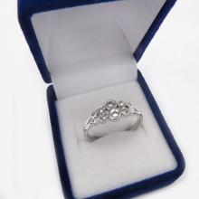 Stříbrný prsten KPS022
