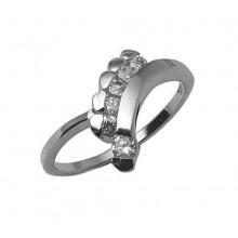 Stříbrný prsten KPS025