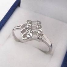 Stříbrný prsten KPS027