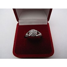 Stříbrný prsten KPS028