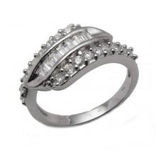 Stříbrný prsten KPS029