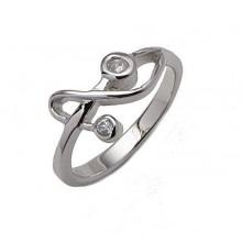 Stříbrný prsten KPS031
