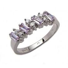 Stříbrný prsten KPS038