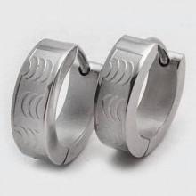 Ocelové náušnice (KNA015)