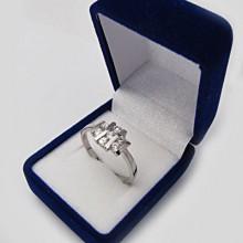 Stříbrný prsten KPS044