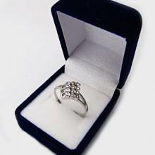 Stříbrný prstýnek KPS045