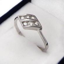 Stříbrný prstýnek KPS046