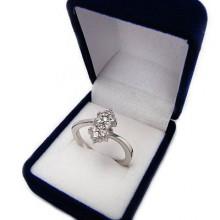 Stříbrný prsten KPS052