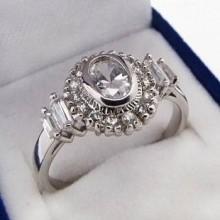 Stříbrný prsten KPS070